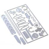 Elizabeth Craft Designs Metal Die(planner essentials 29) (directions)