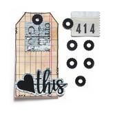 Elizabeth Craft Designs Metal Die (planner essentials) (reinforcement pack 2)