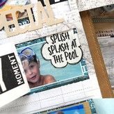 Elizabeth Craft Designs Clear Stamps (vacay phrases)