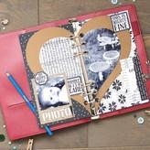 Elizabeth Craft Designs Metal Die (half heart)