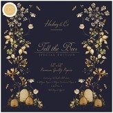 Craft Consortium Double-Sided Paper Pad 12X12 (tell the bees - special edition)