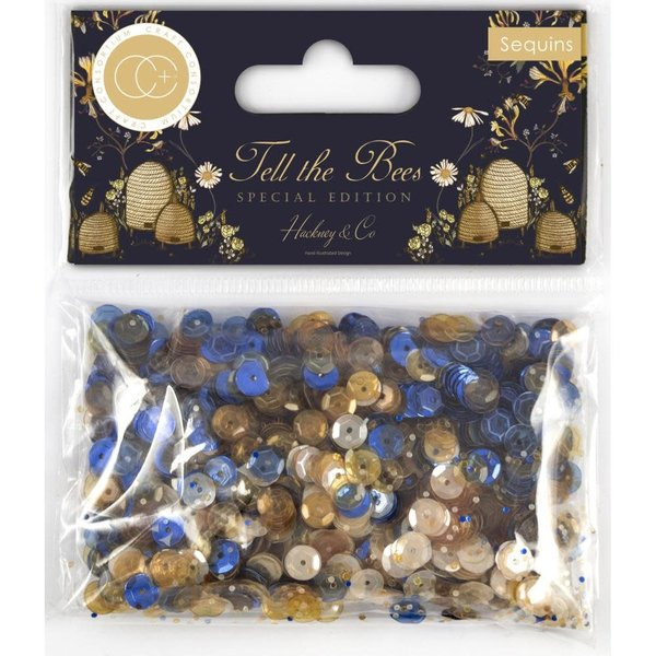Craft Consortium Sequins (tell the bees - special edition)