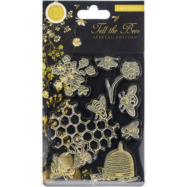 Craft Consortium Clear Stamps (tell the bees - special edition)