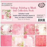 49 and Market Collection Pack 6X6 (vintage artistry blush)