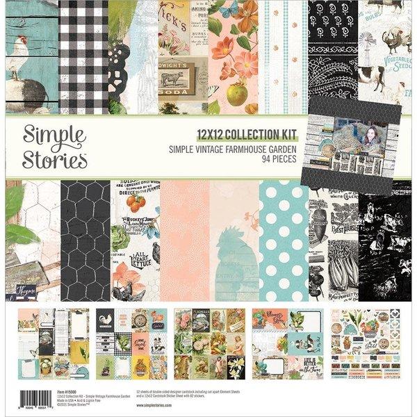 Simple Stories Collection Kit 12x12 (simple vintage farmhouse garden)