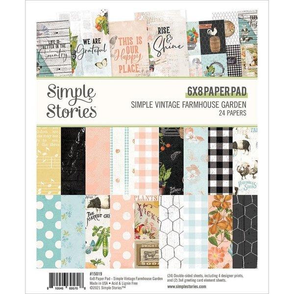 Simple Stories Simple Vintage Paper Pad 6x8 (farmhouse garden)