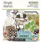 Simple Stories Simple Vintage Bits & Pieces Die-Cuts (farmhouse garden)