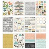 Simple Stories Simple Vintage Sticker Book (farmhouse garden)
