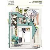 Simple Stories Simple Vintage Chipboard Frames (farmhouse garden)
