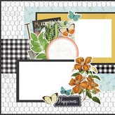 Simple Stories Simple Pages Page Kit - Homegrown (farmhouse garden)