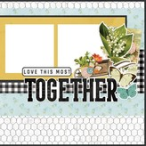Simple Stories Simple Pages Page Kit (homegrown)(farmhouse garden)