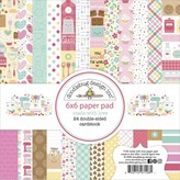 Doodlebug Paper Pad 6x6 (made with love)