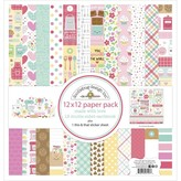 Doodlebug Paper Pad 12x12 (made with love)