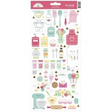 Doodlebug Cardstock Stickers 6x13 (made with love)