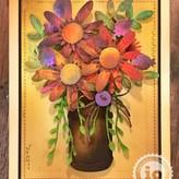 Die (stitched flower bouquet)