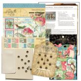 Graphic 45 Club G45 Card Kit - April 2021 (Bird Watcher)