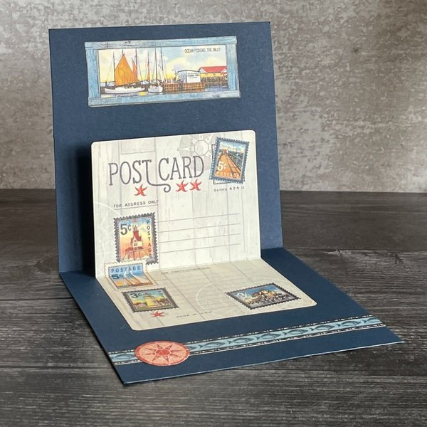 Graphic 45 Club G45 Card Kit - May 2021 (Catch Of The Day)