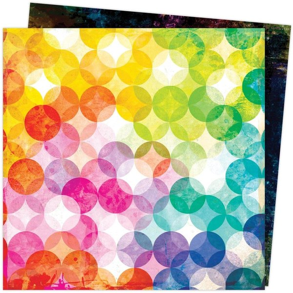 American Crafts Vicki Boutin Double-Sided Cardstock 12X12 - Color Study (inspired)