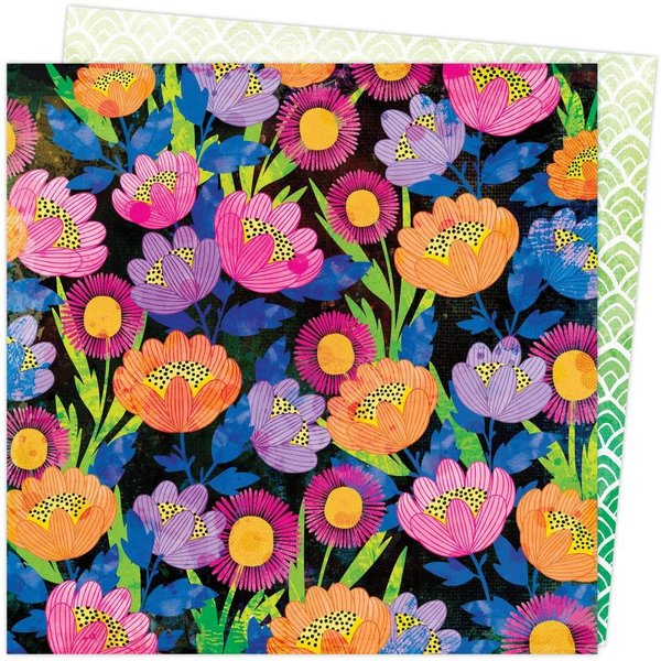 American Crafts Vicki Boutin Double-Sided Cardstock 12X12 - Color Study (sketch book)