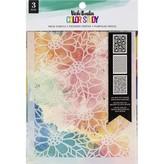 American Crafts Vicki Boutin Stencils - Color Study (fresh)