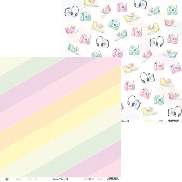 P13 Double-Sided Cardstock 12X12 - Summer Vibes (#04)