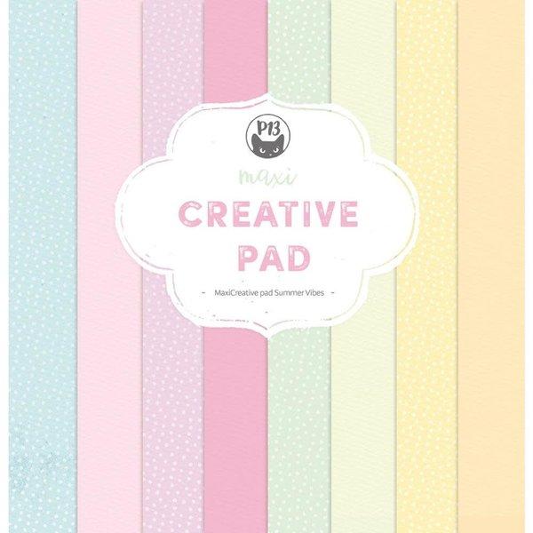 P13 Maxi Creative Paper Pad 12X12 (summer vibes)