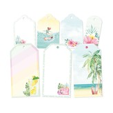 P13 Double-Sided Cardstock Tags - Summer Vibes (#03)