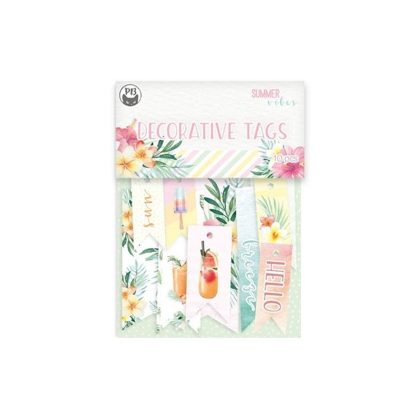 P13 Double-Sided Cardstock Tags - Summer Vibes (#02)