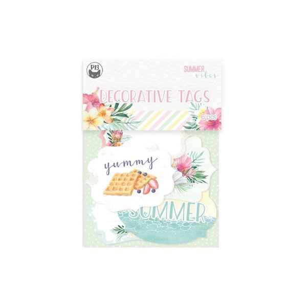 P13 Double-Sided Cardstock Tags - Summer Vibes (#04)