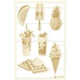 P13 Die-Cut Chipboard Embellishments 4X6-Summer Vibes (#02)