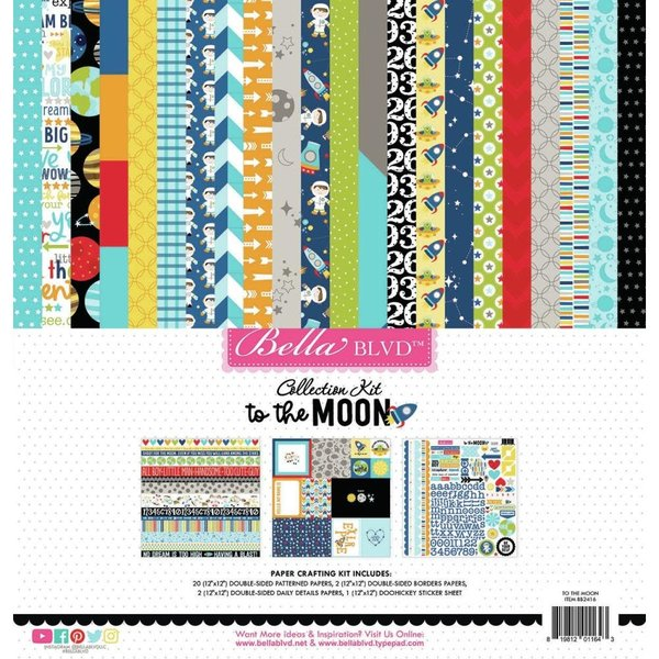 Bella Blvd Collection Kit 12x12 (to the moon)