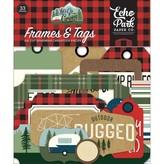 Echo Park Paper Cardstock Ephemera Frames & Tags (let's go camping)