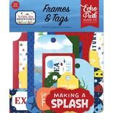 Echo Park Paper Cardstock Ephemera Frames & Tags (under sea adventures)