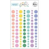 Pinkfresh Studio Enamel Dots (happy blooms)