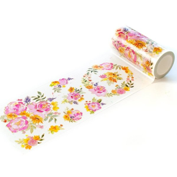 Pinkfresh Studio Washi Tape (painted peony)