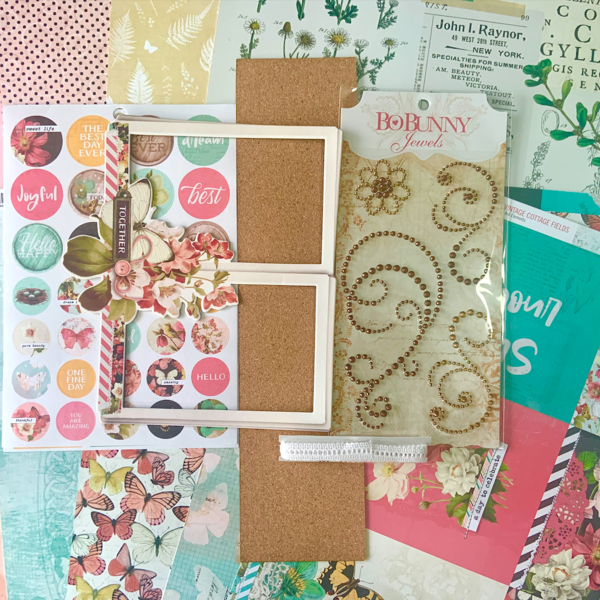 Scrapbooking Fanatics Member Only Monthly Kit (February 2021)