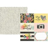 Simple Stories I Am Specialty Cardstock 12X12 (4x6 horizontal elements)