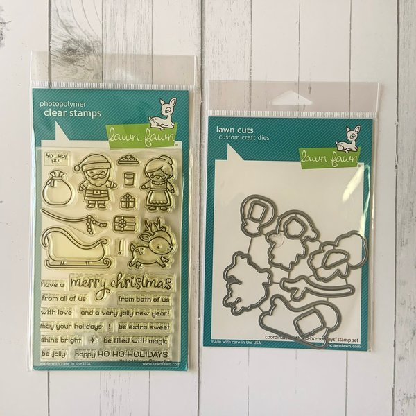 Lawn Fawn Stamp and Die (ho-ho-holidays)