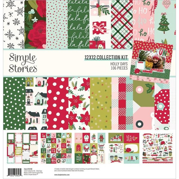 Simple Stories Collection Kit 12x12 (holly days)