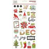 Simple Stories *PRE-ORDER* Chipboard Sticker 6x12 (make it merry)