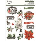 Simple Stories Layered Stickers (vintage rustic christmas)
