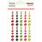 Simple Stories Enamel Dots (make it merry)