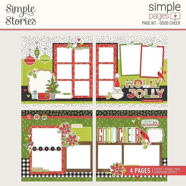 Simple Stories *PRE-ORDER* Simple Pages Page Kit - Make it Merry
