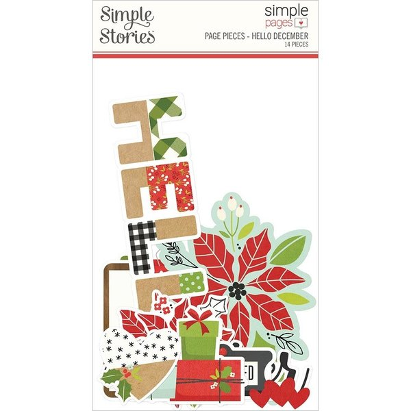 Simple Stories *PRE-ORDER* Simple Pages Page Pieces - Make it Merry (hello december)