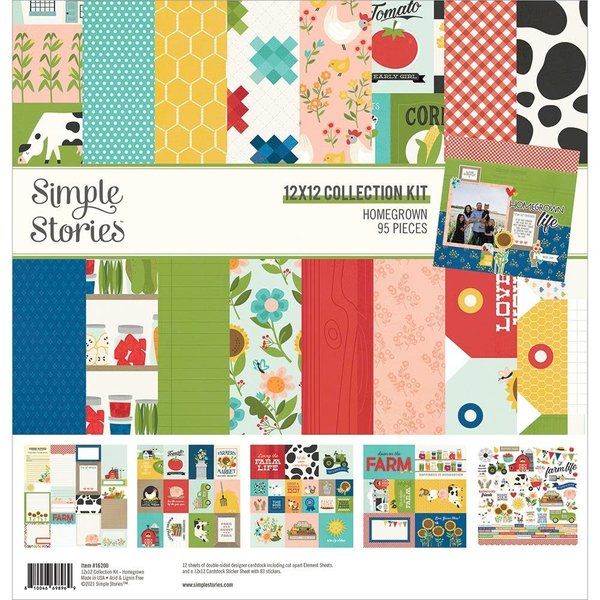 Simple Stories *PRE-ORDER* Collection Kit 12x12 (homegrown)