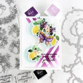 Pinkfresh Studio Die (lemons & blueberries)