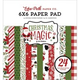 Echo Park Paper Double-Sided Paper Pad 6x6 (christmas magic)