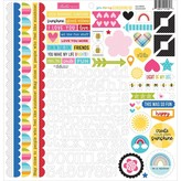 Bella Blvd Cardstock Stickers 12x12 - You Are My Sunshine (doohickey)