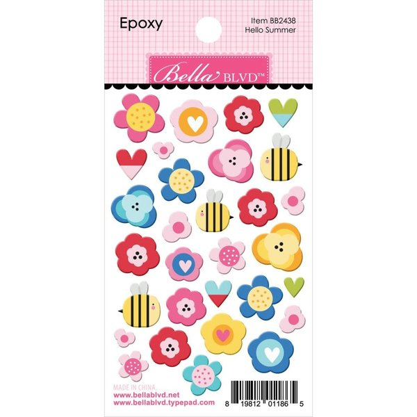 Bella Blvd Epoxy Stickers - You Are My Sunshine (hello summer)
