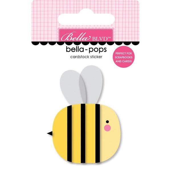 Bella Blvd Bella-Pops 3D Stickers - You Are My Sunshine (bee happy)